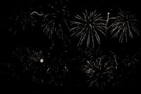 Fireworks tiled-