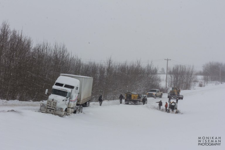 Edmonton Stony Plain Accident